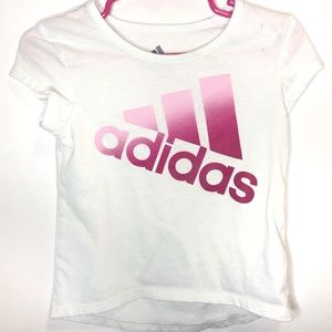 Baby Girls Adidas Purple and Pink Shirt Size 18m